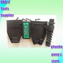 25% off FINETRIP Universele Plastic DIY Voor Auto Kabel Case OBD Stekker OBD2 16Pin Connector J1962 Groothandel 50pcs