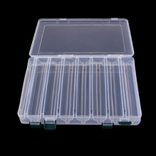 14 Compartments Double Sided Plastic Multifunction Storage Case Fishing Lures Bait Tackle Box Fly Carp Fishing Accessories Pesca