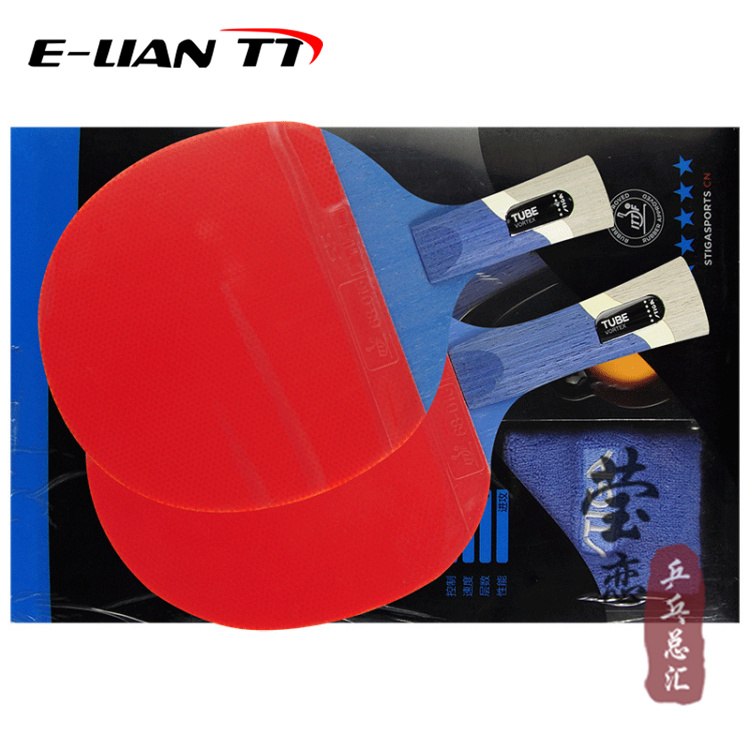Stiga pentastar swastika tube bordtennisboll färdiga produkter Gratis frakt 1 styck / set Bordtennisracket Ping Pon