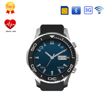 GOLDENSPIKE Original MTK6572 GS11 Clock Smart Phone Android 5.1 OS Screen quad core Support SIM smartwatch heart rate pedometer