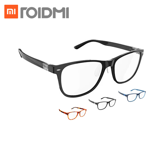 Asli Xiaomi B1 ROIDMI Dilepas Anti-biru-sinar Kacamata Pelindung Mata Protector Untuk Pria Wanita Bermain Telepon/komputer/Game