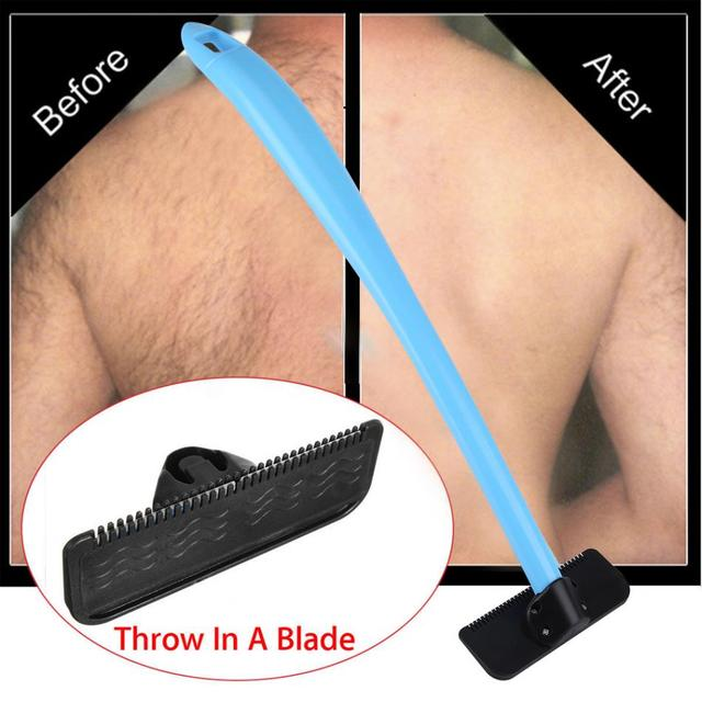 Men manual back hair shaver blade trimmer do it yourself whole body men manual back hair shaver blade trimmer do it yourself whole body leg back solutioingenieria Images