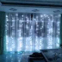 300leds Curtain LED String Lights New Year Christmas Garlands FairyParty Garden Wedding Decoration Fairy High Quality