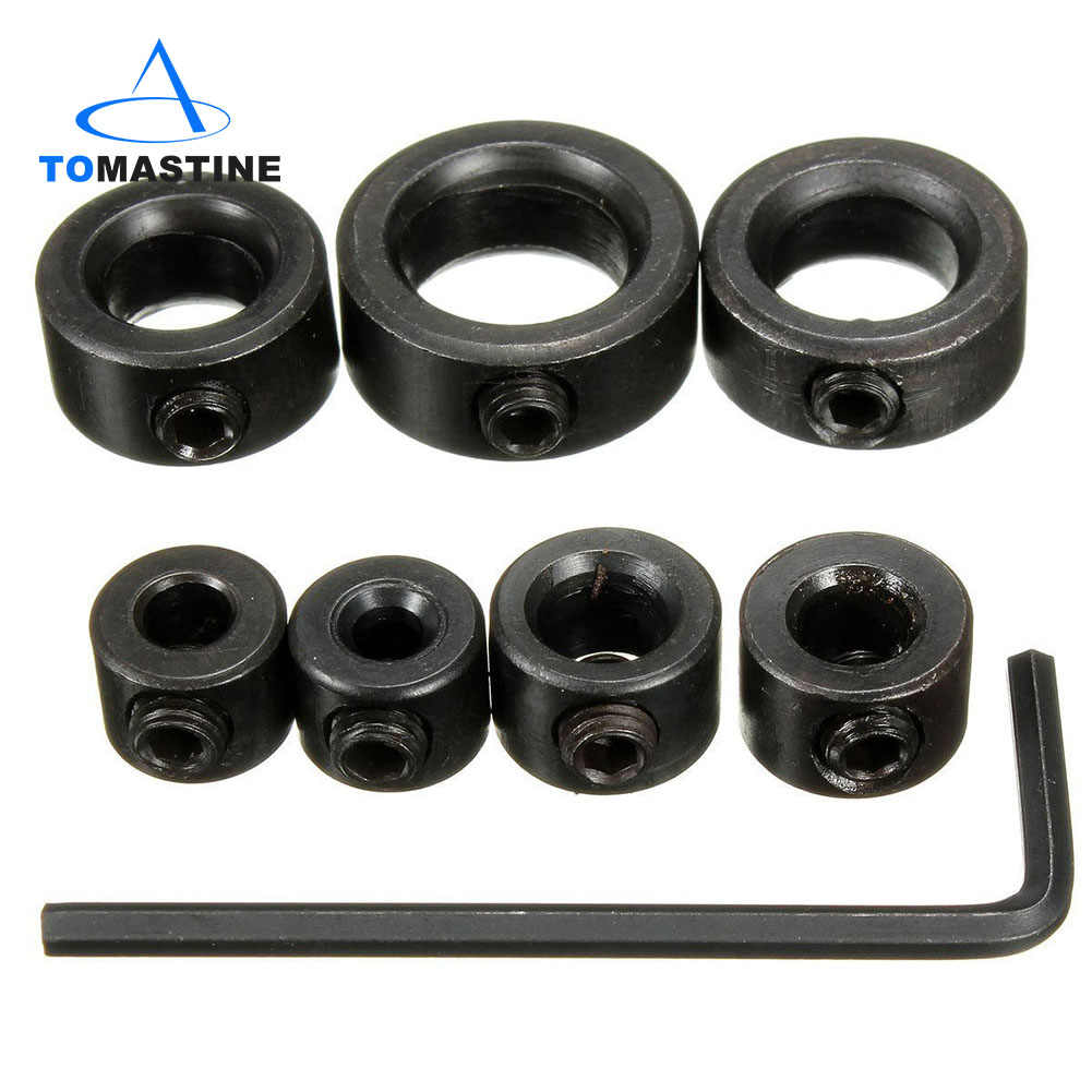 Hex Wrench KSTE 8pcs 3-12mm Drill Bit Locator Depth Stop Collars Ring Positioner