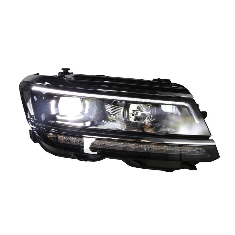 Lamp Accessory Neblineros Para Auto Exterior Automovil Led Assessoires Headlights Car Lights Assembly For Volkswagen Tiguan L rear headlights turn signal automovil assessoires daytime running neblineros para auto styling car led lights for ford fiesta