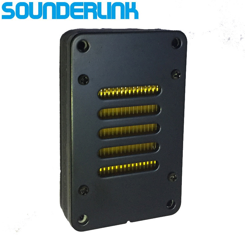 Sounderlink 1PC Superb AMT aluminum speaker air motion transformer ribbon tweeter amt ribbon tweeter raw speaker driver air motion transformer tweeter speakers 1 pair