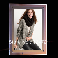 Ultra Thin Acrylic Frame Led Advertising Light Box High Quality Backlit Poster Frame