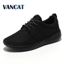 New 2017  Brand Best Men Casual Shoes Spring/Summer Black Colors Couple Flats Shoes  Air Mesh Breathable Men ShoesZapatillas  Plus Size 36-45