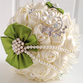 New 2016 Wholesale New Bridal Bouquet Mariage Bouquet Bouquets For Wedding Bridal Wedding Bouquets With Pearls