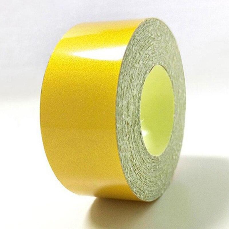 Tape-Sticker Strip Warning-Tape Self-Adhesive Reflective Safety Mark 5cmx3m Automobiles