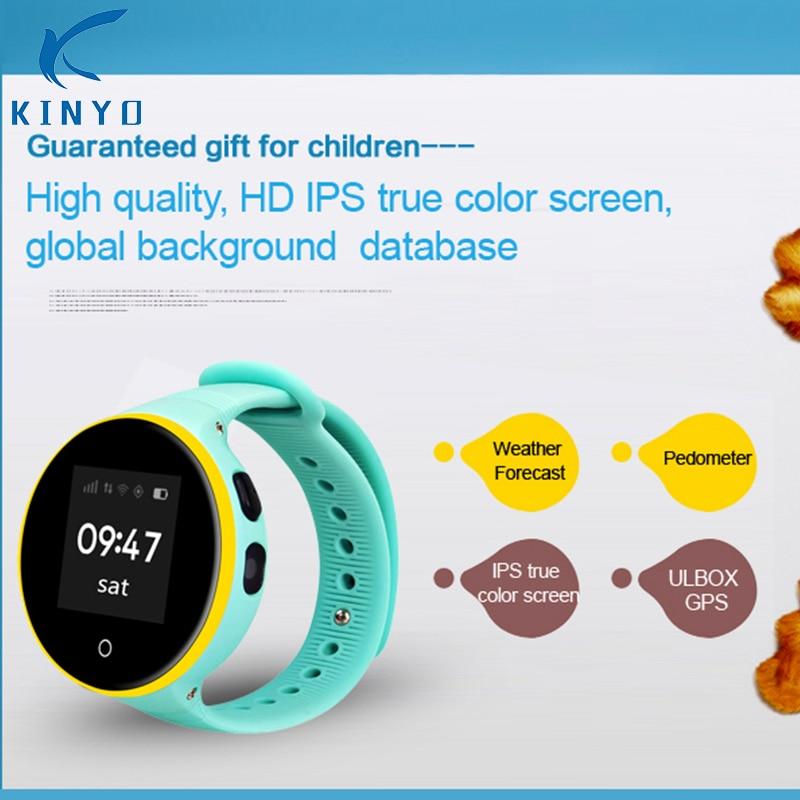 2018 Newest Waterproof Kid Smart Watch Wristwatch GPS LBS SOS Monitoring child gps smartwatch for iOS Android smart Phones стоимость