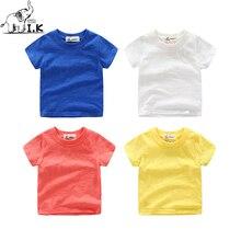 I.K scherzt Baby-Kleinkind-T-Stücke T-Shirt kurze T-Shirts Kinder übersteigt bunte Baumwolle weiches dünnes Sommer-Kostüm 2018 neue Ankunft DT25022