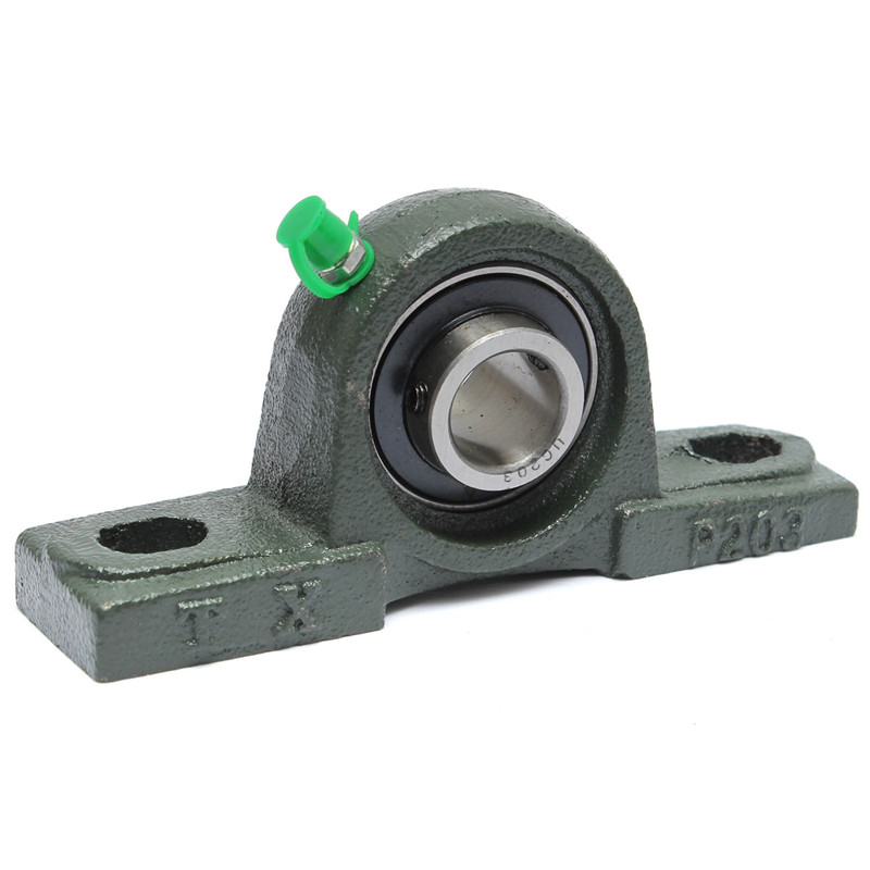 1pc UCP203 Pillow Block Bearing 17mm Bore Diameter Zinc Alloy Pillow Block Mounted Ball Bearing Self-aligning Pillow Bearing1pc UCP203 Pillow Block Bearing 17mm Bore Diameter Zinc Alloy Pillow Block Mounted Ball Bearing Self-aligning Pillow Bearing