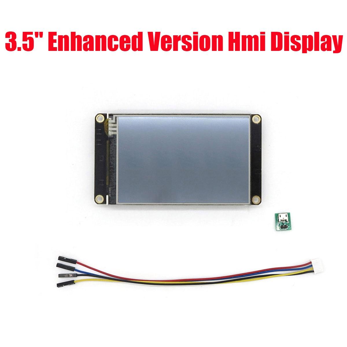 3.5 pouces Nextion amélioré HMI Intelligent Intelligent USART UART série Tou ch TFT LCD panneau d'affichage panneau d'affichage LCD Module NX4832K035
