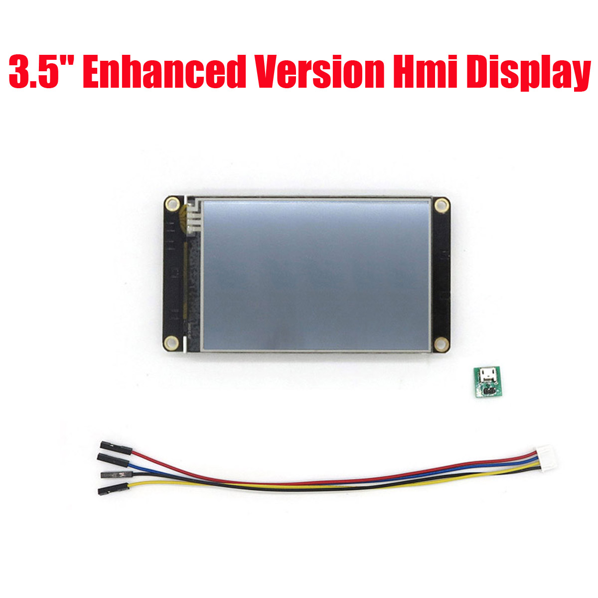 3,5 pulgadas Nextion Enhanced HMI inteligente USART UART Serial Tou ch TFT LCD prueba pantalla LCD módulo NX4832K035