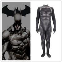 Movie Batman Cosplay Costume Superhero Bruce Wayne Zentai Halloween Party Costumes Bodysuit Suit Jumpsuits