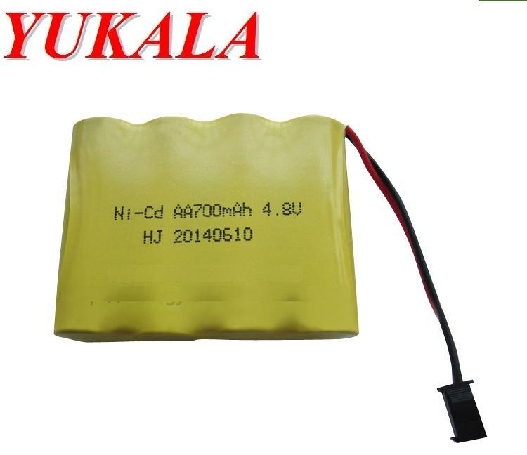 Ni-Cd 4.8 V 700mAh Remote Control Toys Electric toy security facilities electric toy AA battery battery group 2pcs/lot