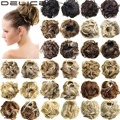 DELICE HAIR 60G Women's Wave Curly Elastic Drawstring Clip In On Hair Bun Chignon Updo Cover Hair Pieces Dia 12cm Q6 -1