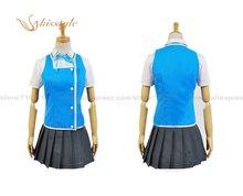 Kisstyle Fashion D-Frag! Funabori Uniform Cosplay Clothing Costume