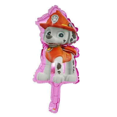 Хит, Paw Patrol, украшение на день рождения, фигурки, игрушки, Щенячий патруль, воздушные шары, вечерние, декор для комнаты, Чейз, Маршалл, баллон, детские игрушки для девочек - Цвет: Small Size 03