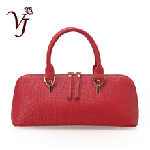 Luxury New Designer Women Alligator leather Handbags Female Shoulder Bag Zipper Totes bag Lady Messenger Bags Sac a main