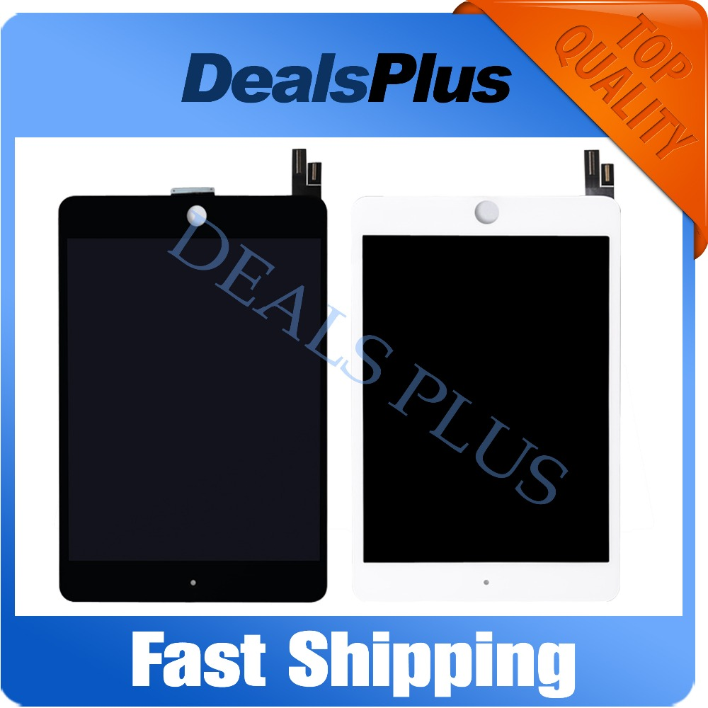 Replacement New LCD Display Touch Screen Assembly For iPad Mini 4 A1538 A1550 Black White Free Shipping brand new lcd screen retina display replacement for ipad mini 3 3rd generation