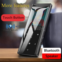 CHENFEC C12 Speaker MP3 1.8 IN MP3 Player With Bluetooth 4.0 Slim Radio FM Player For 128GB Micro SD TF Card MP3 Music player