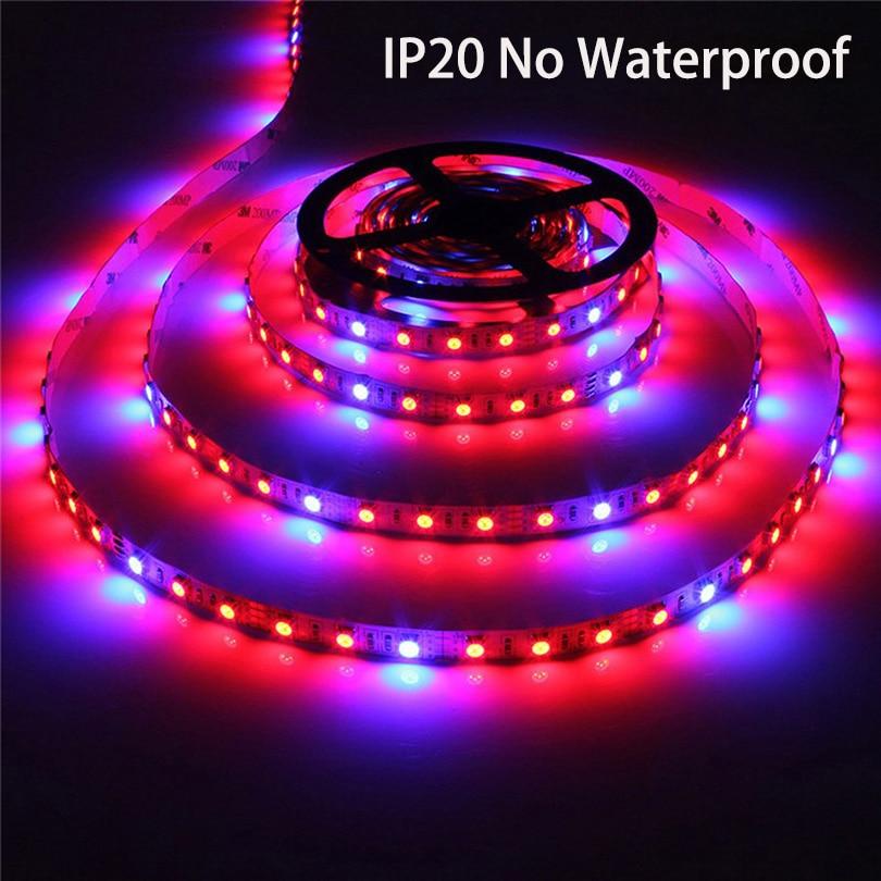 Tiras de Led smd5050 led phyto lâmpadas crescer Emitting Color : Red+blue