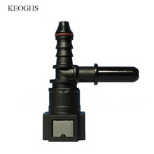 7,89 ID6 автомобильный быстроразъемный разъем для топлива типа F, мужские, гнездовые разъемы для топлива/метанола/этанола/мочевины 6-8 мм, трубка...