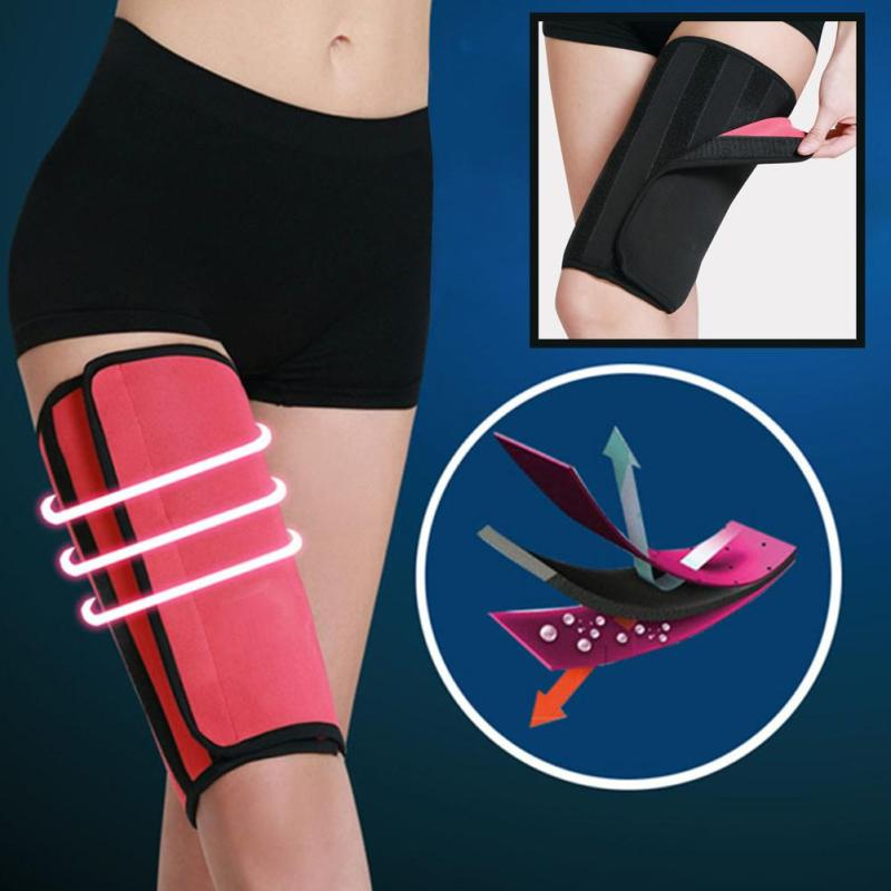 Neoprene Thigh Belt Body Shapers Slimming Gym Sports Stretch patch Slimming belt L3