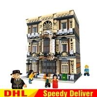 XingBao 01005 Genuine Creative MOC City Maritime Museum Set Building Blocks Bricks Legoings Toys Model Gifts Clone Lepinges