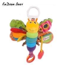KUDIAN BEAR Musical Baby Toys Stroller Mobility Crib Mobiles Rattles Kids Toys Newborns Plush Baby Toys 0-12 Months BYC007 PT49