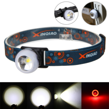 VASTFIRE Headlamp Headlight led Rechargeable USB 3IN1 XM L T6 LED BALL REAR LIGHT Work lamp