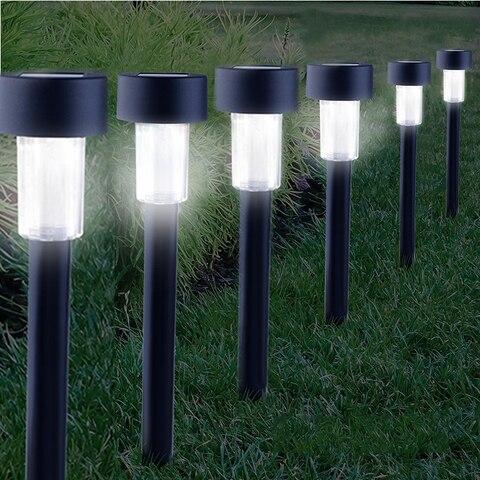10 pcs solar caminho luzes ao ar