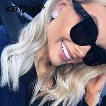 Fashion Sunglasses Women Luxury Brand Designer Vintage Sun glasses Female Rivet Shades Big Frame Style Eyewear Feminino Goggle