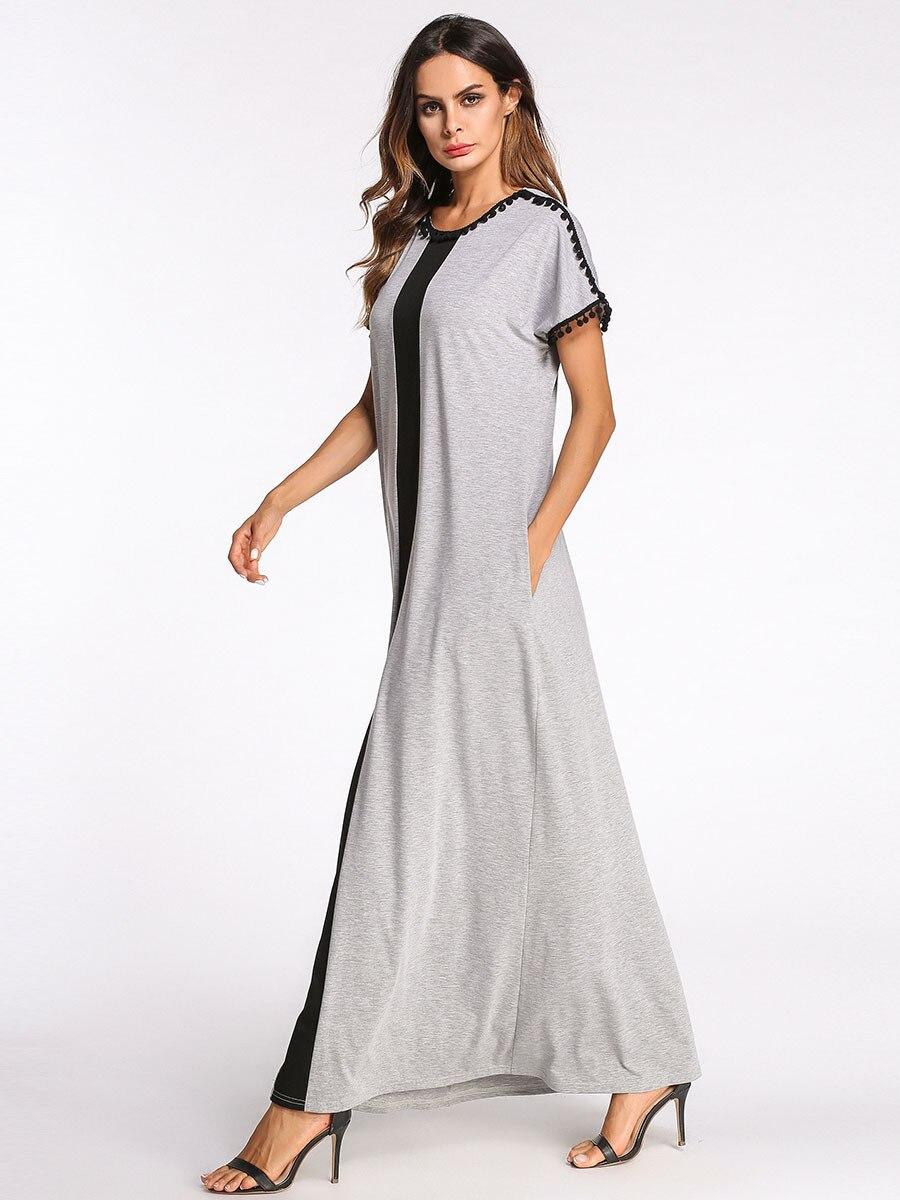Women's Nightgown Cotton Nightgowns Long Plus Size Nightwear Casual Sleepwear Homewear Dress Big Size Nightghtdress Sleep Dress 3