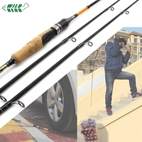 Lowest profit Fishing Rod 1.8M Carbon Rod MH/M 2 Tips 10 28g Spinning Rod Casting Light Jigging Rod 2 Sections fishing pole
