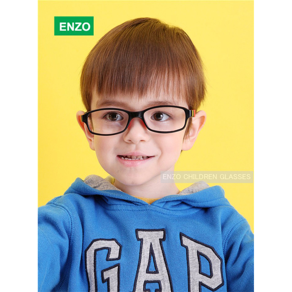Image 5 - Silicone Glasses Frame Size 45mm No Screw Safe Flexible Optical Bendable Kids Eyeglasses Boys Girls-in Men's Eyewear Frames from Apparel Accessories