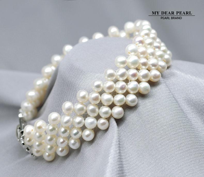 freshwater pearl bracelets jewelry 100