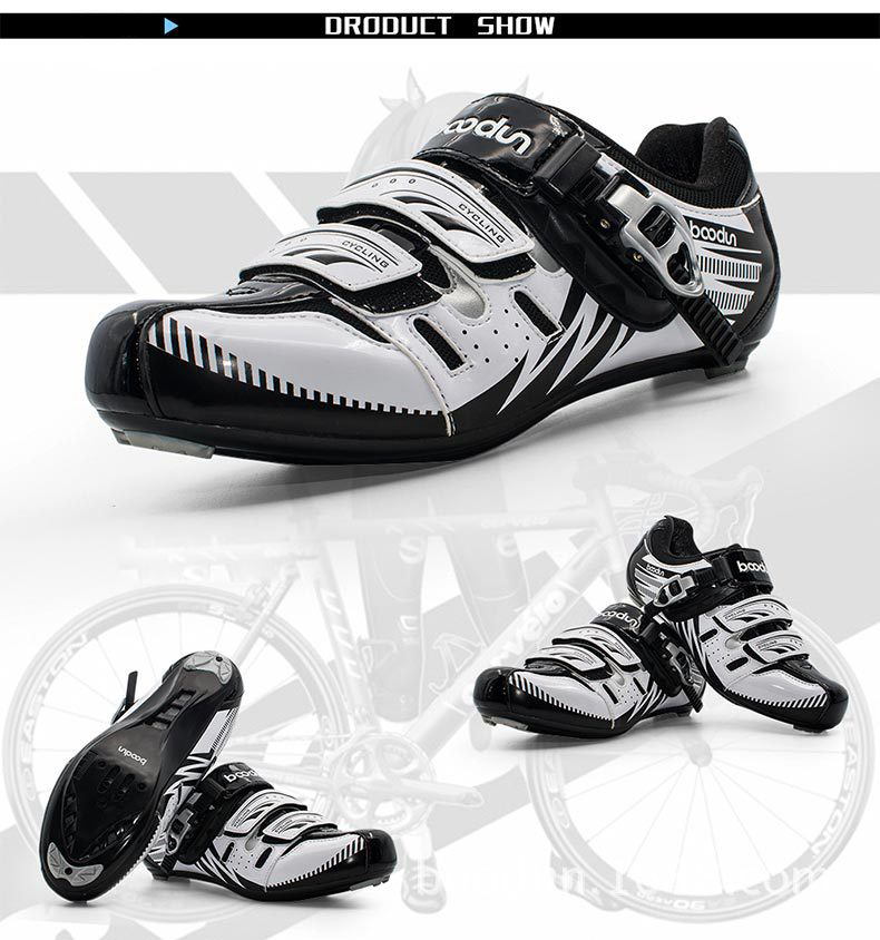 9 bestgia New-Mens-Road-Bicycle-Shoes-MTB-Riding-Cycling-Mountain-Bike-Shoes-EUR39-46-Non-slip-Auto (2)