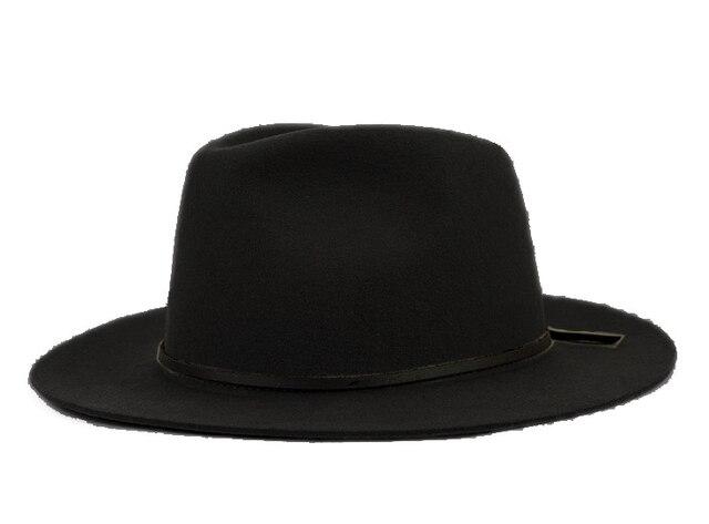 Fashion 100% Wool Summer Women s Men s Crushable Genuine Felt Fedora Bush Sun  Hat Trilby Gorra Toca Sombrero with Cowhide rope 3b40efbdaeb