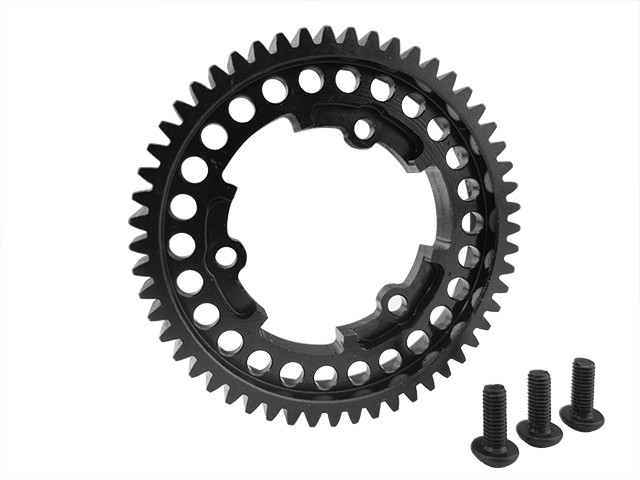 steel 54 tooth, 1 mod hardened steel spur gear for the Traxxas X-Max 4X4 стоимость