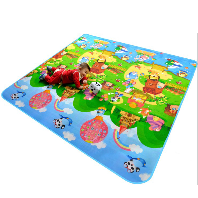 Felices letras de la granja y de la fruta Colchonetas de bebé de - Juguetes para niños - foto 2