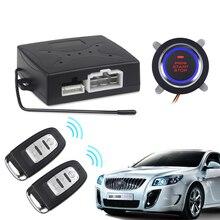 Автомобиль Автозапуск двигателя Автосигнализация система кнопочный пульт дистанционного стартера стоп авто