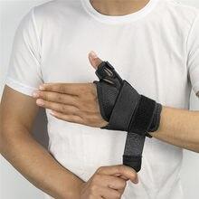 Recuperación de refuerzo del pulgar ambidiestro férula para la artritis tendinitis fractura cepa se ajusta tanto a las manos de la muñeca pulgar estabilizador Immobil