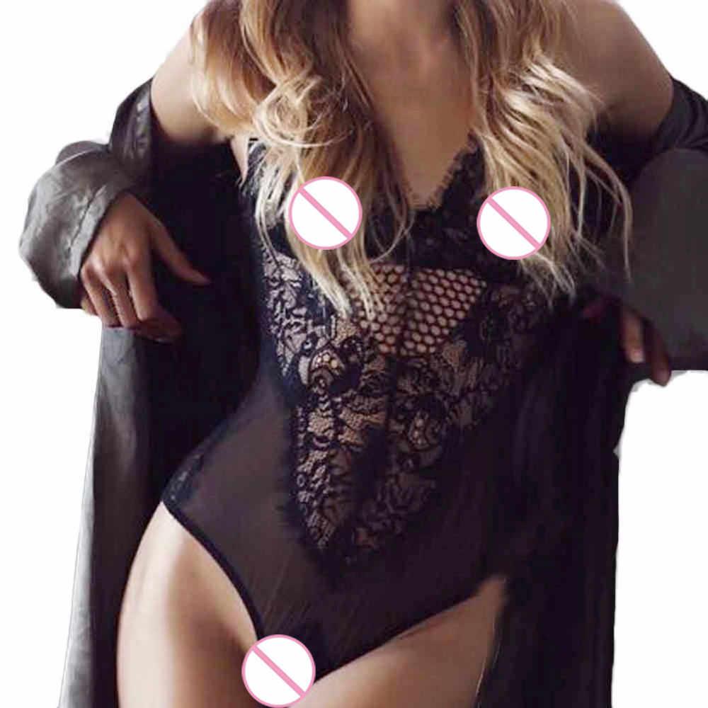 #5 DROPSHIP 2018 NEUE HEIßE Mode Frauen Sexy Spitze Dessous Backless Overall aushöhlen Body Unterwäsche Freeship