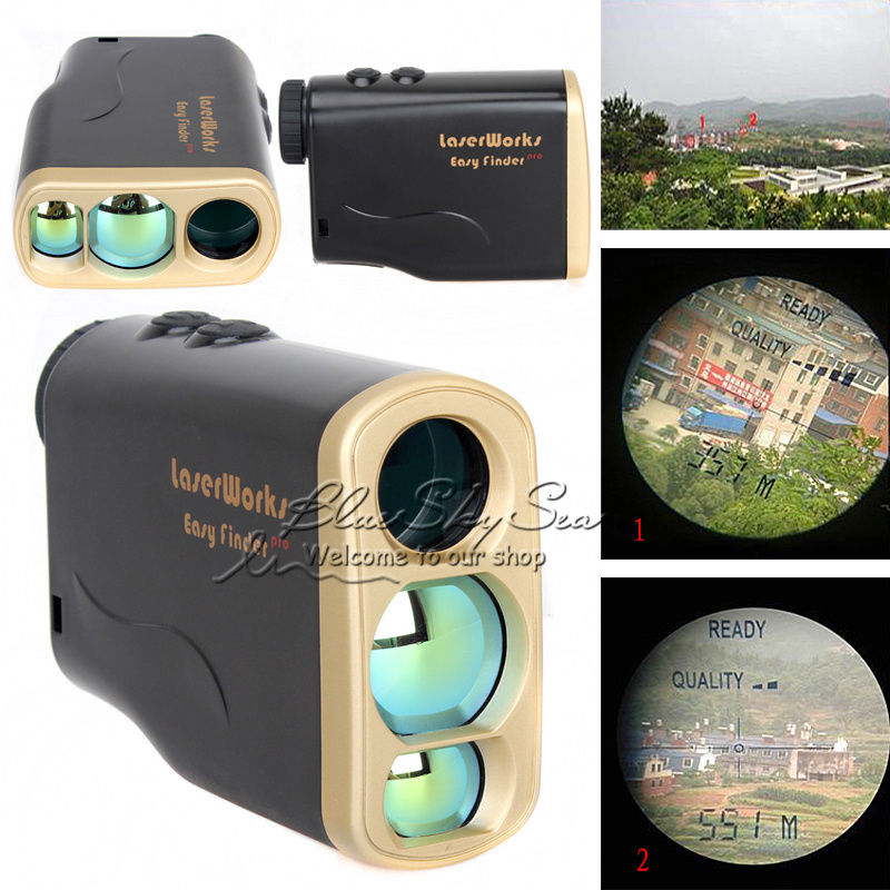 Free Shipping 1000M Waterproof Laser font b Rangefinder b font Telescope Distance Speed Measurement for Outdoor