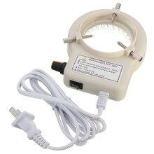 Новый 56 светодиодный s Регулируемые кольца света для подсветки лампа для стерео микроскоп Отлично круг света светодиодный вокруг света