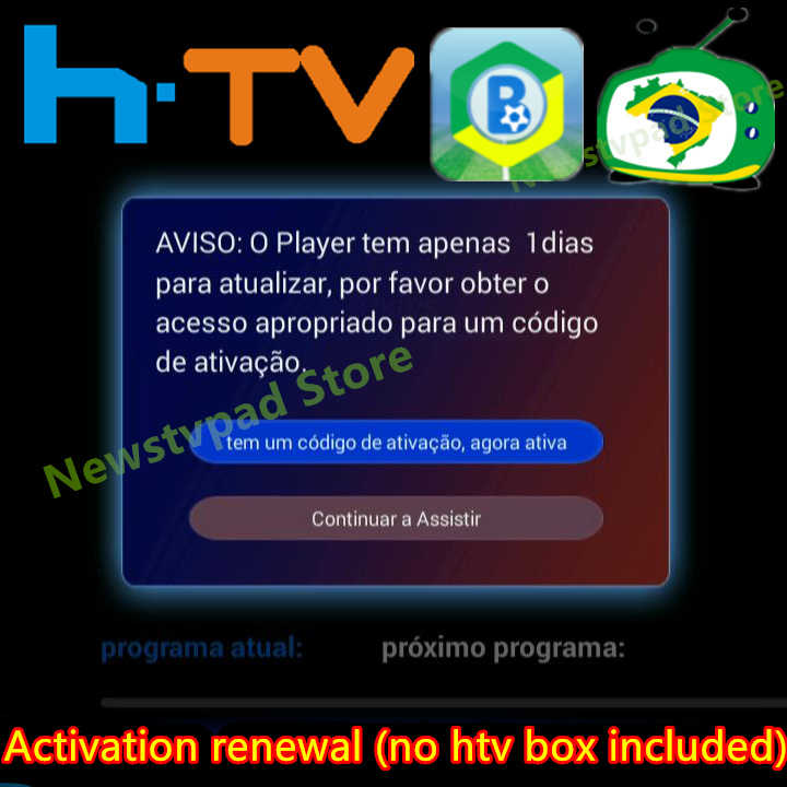 100% Authentic Yearly 400 days renew code for A2 3 B7 HTV3
