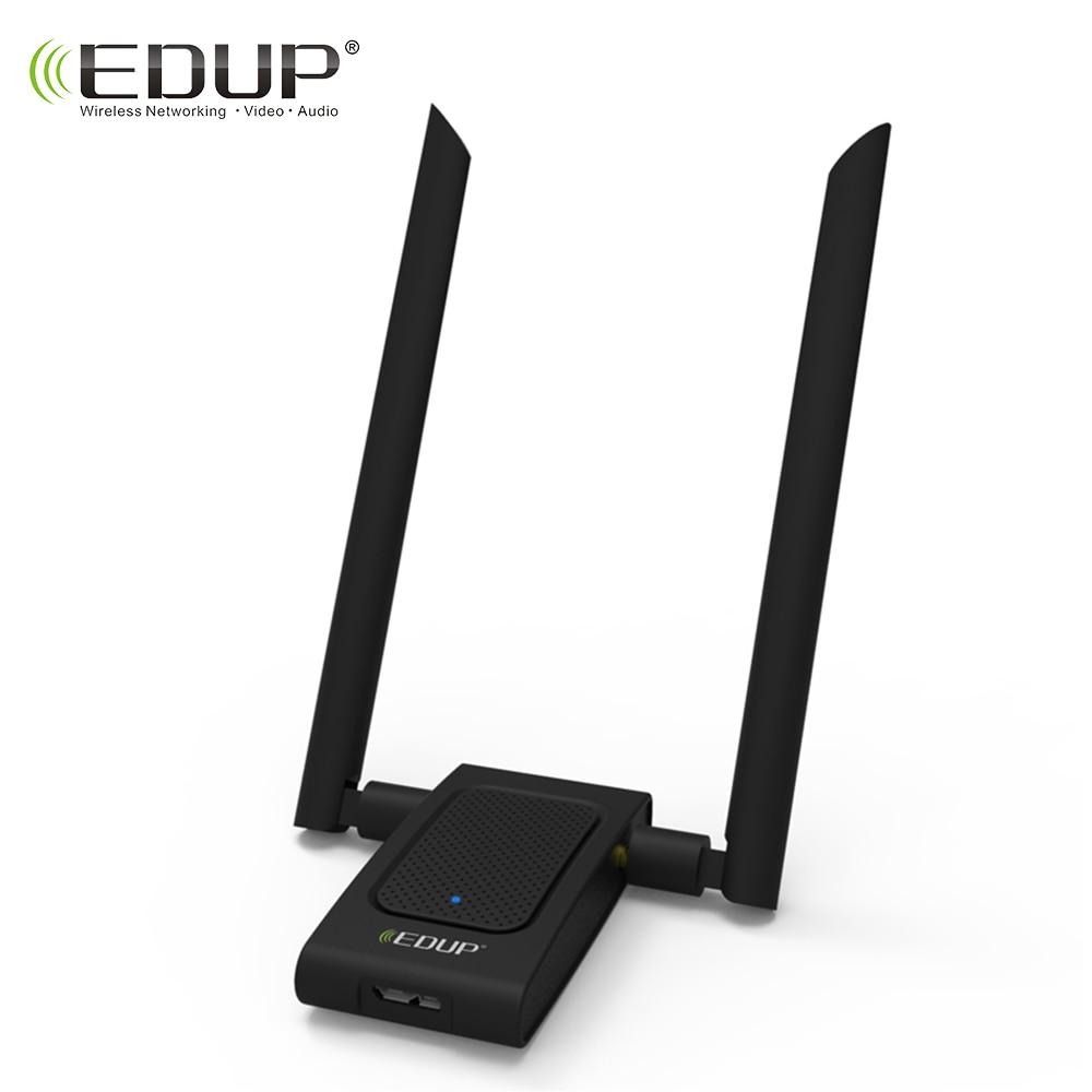 EDUP 5ghz usb wifi adapter 1200mbps high gain 2*6dbi wifi antennas 802.11ac dual band usb 3.0 ethernet adapter network card edup 5ghz usb wi fi adapter 1900mbps 802 11ac long distance wifi receiver 4 6dbi antennas dual band usb 3 0 ethernet adapter